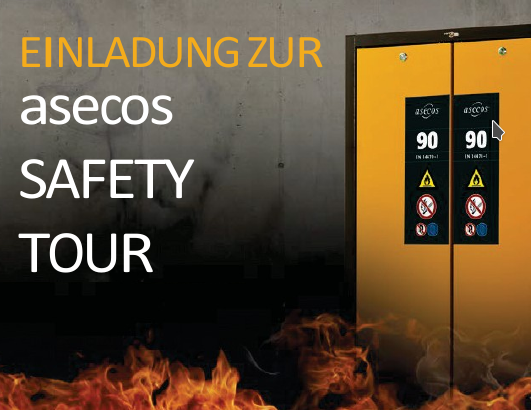 Asecos SAFETY TOUR 2017
